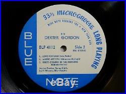 DEXTER GORDON QUARTET GO! LP BLUE NOTE 4112 MONO NY VAN GELDER SONNY CLARK Jazz