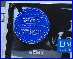 Dave Matthews Band Live Trax Volume 1 RSD Blue Vinyl DMB Record Store Day Vol. I