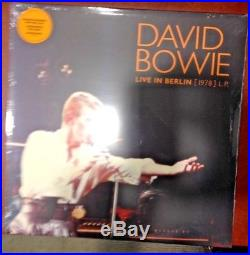 David Bowie Live in Berlin'78 LP Orange and Time 7 Silver Brooklyn Exclusive