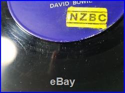 David Bowie Space Oddity 1st Press Philips New Zealand 7 ULTRA RARE- blackstar