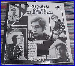 Ernan Roch Con Las Voces Frescas La Onda Pesada Mexican Rock Lp Promo Stamped
