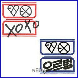EXO XOXO 1st Repackage Album KISS/HUG Ver CD+104p Photo Book+GIFT K-POP SEALED