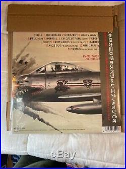 Eminem Kamikaze Vinyl Night Combat Special Edition Camo Rare LE 150 Glow in Dark