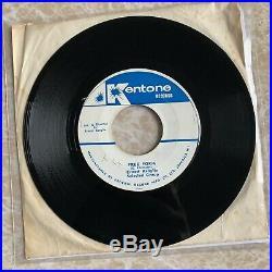 Ernest Ranglin Free Form / Skalvouvia 7 Ska Reggae 45 Rare Kentone NM grail x