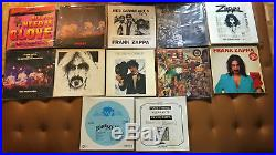 FRANK ZAPPA ULTIMATE COLLECTION vinyl lp, CDs ONCE IN LIFE TIME OPPORTUNITY