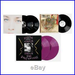 Fiona Apple Bundle Tidal Idler Wheel Fetch The Bolt Cutters Purple 2x Vinyl LP