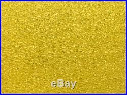 Flight Case Swan 12 Single LP 100 Vinyl Record Box (Yellow Rigid PVC)