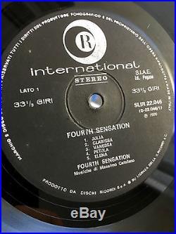 Fourth Sensation Self Titled Original Italian Prog