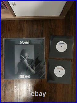 Frank Ocean Blond Vinyl Record LP Official Pressing, Cayendo + Dear April