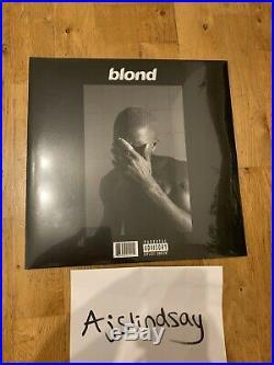 Frank Ocean Blonde Blond Vinyl Lp 2016 Black Friday Brand New & Sealed