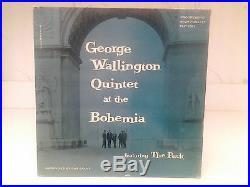 GEORGE WALLINGTON AT THE BOHEMIA, Progressive PLP 1001,1stMONO, RVG, Vinyl Jazz