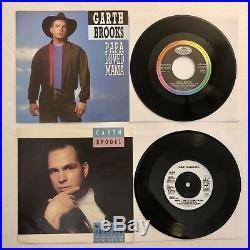 Garth Brooks 14 Record Lot No Fences Ropin The Wind The Chase Trisha Yearwood