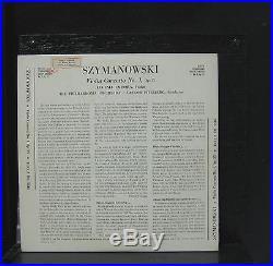 Gregor Fitelberg Szymanowski Violin Concerto No. 1 10 LP VG+ Vinyl Record