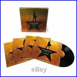 HAMILTON Original Broadway Cast Vinyl 4 LP Recording Box Set NEW & SEALED