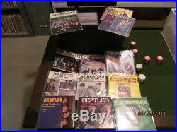 HUGE Vintage 45 RPM Vinyl Record Collection 1950s-1990s Rock Pop Soul in Sleeves