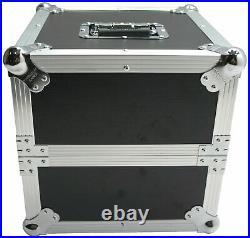 Harmony Cases HCLP80 Flight Road Travel DJ Custom Case Holds 80 LP Vinyl Records
