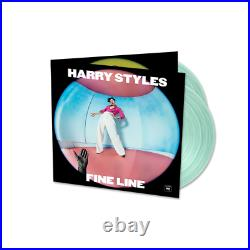 Harry Styles Fine Line Exclusive Limited Edition Coke Bottle Clear 2x Vinyl LP