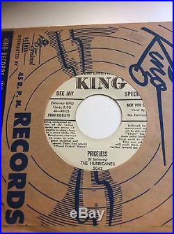 Hurricanes on King Unheard of Sale of entire 7 record catalogue- all VG+ M