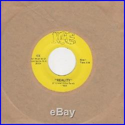Ice Reality / Hey Hey Ice Northern Soul Crossover Motown Tmg Rare Modern F