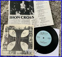 Iron Cross Original 7 punk Kbd Dischord