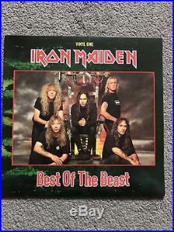 Iron Maiden Best Of The Beast Limited Vinyl LP Box Set EMI 1996