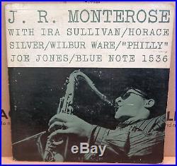 J. R. Monterose Ira Sullivan Horace Silver Wilbur Ware Joe Jones Blue Note Lp 1536