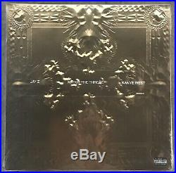 JAY-Z & KANYE WEST Watch The Throne PICTURE DISC Vinyl 2 LP Record SEALED/BRAND