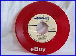 JERRY HART & THE MISSLES Countin' On Love (45) ROCKABILLY Record RED Vinyl