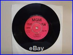 JETHRO TOE (Pre-Jethro Tull) Sunshine Day- Aeroplane-U. K. 7 1968 MGM 1384 Demo
