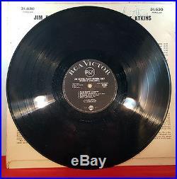 JIM REEVES, CHET ATKINS and FLOYD CRAMER Autographed Vinyl LP Record Album