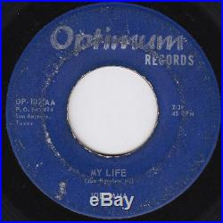 JOE JAMA My Life ULTRA RARE ORIGINAL 45 northern soul STOMPER sweet soul HEAR