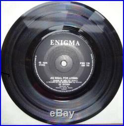 JOY DIVISION Orig 1978 IDEAL FOR LIVING Enigma 7 PS MINT- VINYL EX