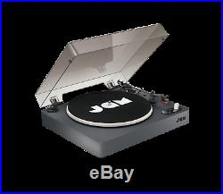 Jam Spun Out Bluetooth Vinyl LP Record Player Turntable 3 Speed Portable Black
