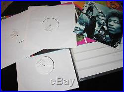 Jimi Hendrix Bbc Sterling Sound Acetate Set & Mca Test Pressing Vinyl Lp Set