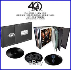John Williams Star Wars A New Hope (Original Soundtrack) New Vinyl LP Ltd E