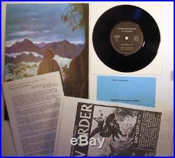 Joy Division Licht Und Blindheit Orig. Sordide Sentimental 7in + Inserts
