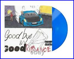 Juice WRLD Goodbye & Good Riddance (LP) Opaque Blue Vinyl Urban Outfitters UO