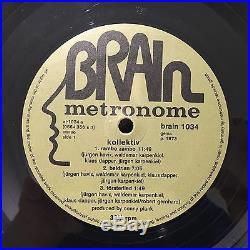 KOLLEKTIV S/T 1973 LP Vinyl Records Original BRAIN NM