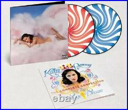Katy Perry Teenage Dream The Complete Confection Peppermint Swirl Vinyl LP VGNM
