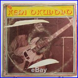 Keni Okulolo S/t Emi Afro Funk Lp Rare Vg