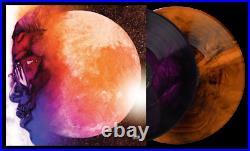 Kid Cudi Man On The Moon The End Of Day VMP ROTM Purple Brown Marble 2x Vinyl