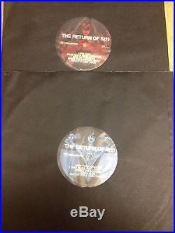 Kiss Return 1979 MSG Madison Garden Lp Vinyl Double Record Set Rare Ace