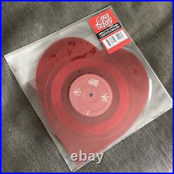 LANA DEL REY Lust For Life UO Urban Outfitters RED Vinyl WEEKND