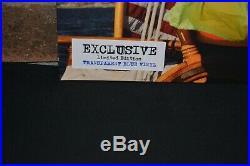 LANA DEL REY NFR! Limited Import 1st Press 2LP TRANS BLUE VINYL Gatefold New