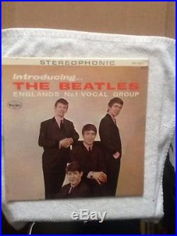 LP Introducing The Beatles The Beatles SR 1062 Attention Collectors