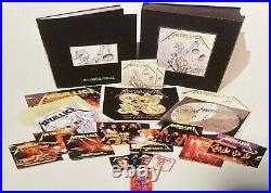 LP METALLICA And Justice For All (6LPs BOX SET/11CDs/4DVDs/BOOK) NEW MINT SEALED