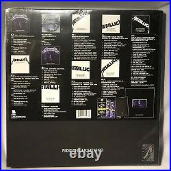 LP METALLICA Ride The Lightning (3LPs BOX SET/6CDs/DVD/Book) NEW MINT SEALED