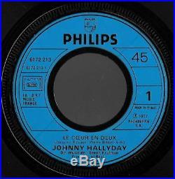 Le plus recherché des 45t SP original neuf JOHNNY HALLYDAY 6172 213 Gabrielle