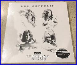 Led Zeppelin BBC Sessions US 2005 Classic Records vinyl 4 LP box set NEWithSEALED