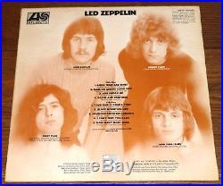 Led Zeppelin I Turquoise Sleeve Superhype 1 2 4 Credit Uncorrected Matrix Lp